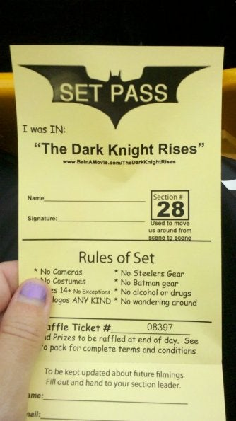 The Dark Knight Rises Set Pictures