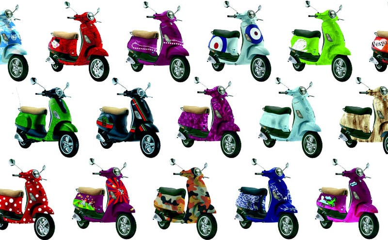 Vespas Against the Blues