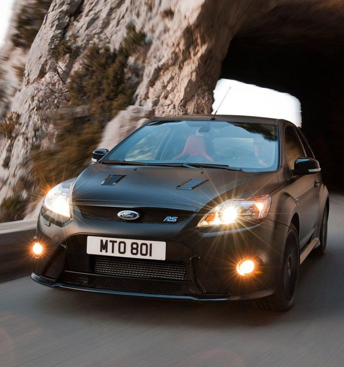 Ford Focus RS500: A 350 HP Matte Black Monster