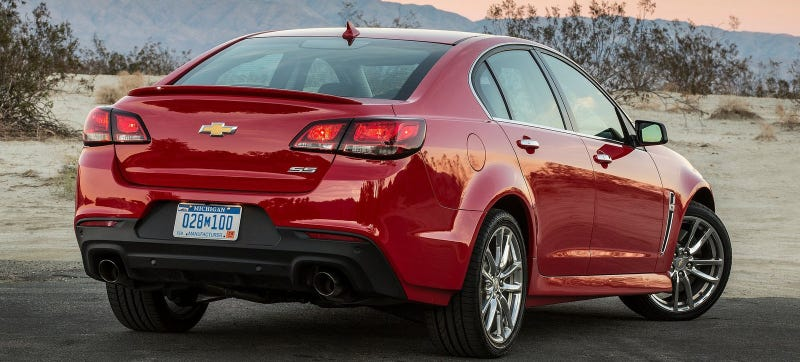 Chevrolet SS Manual Transmission, Magnetic Ride Confirmed In Order Guide