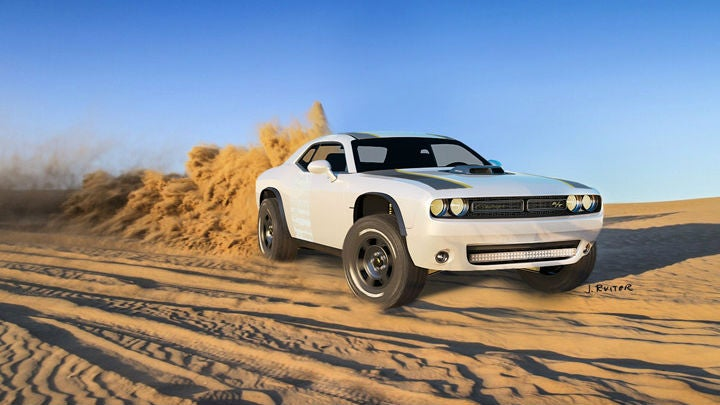 The Untamed A/T Is The Dodge Challenger Rally Car America Deserves