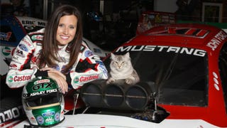 Is Drag Racer Ashley Force A Crazy Cat Lady? A <i>Jalopnik</i> Debate
