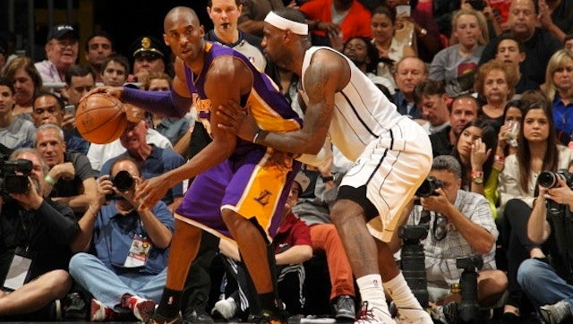 "Kobe Gets Asked If LeBron's Better Than Him. Kobe Says LeBron's ""In That Same Room."""