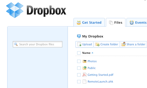 Launch Applications Remotely with Dropbox and AutoHotkey
