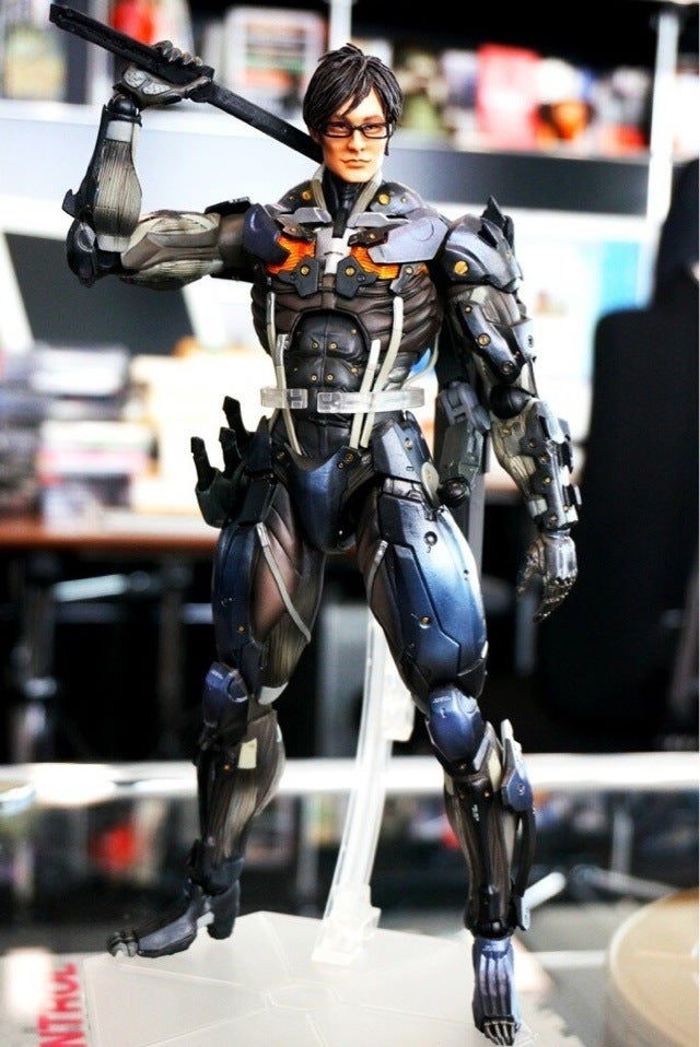 Square Enix Just Turned Hideo Kojima into a Raiden Toy