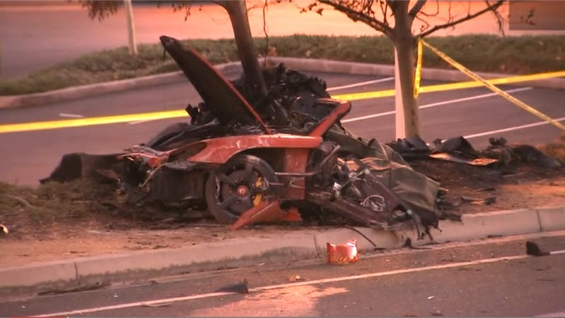 Police Now Say Racing Wasn't Involved In Paul Walker's Deadly Crash