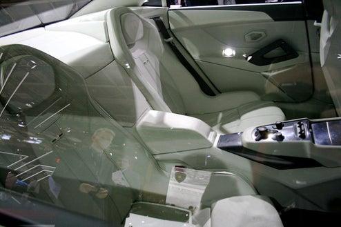 The Backseat Of A Lamborghini?