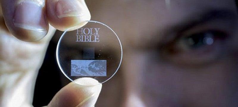 Estos discos de cuarzo pueden almacenar 360 TB de datos durante miles de millones de años