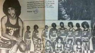 Prince: junior high b-ball pic!