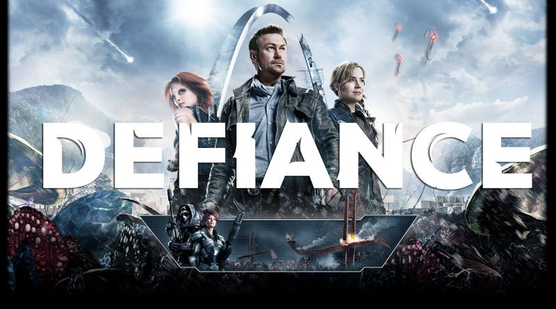 So, I started watching Defiance...