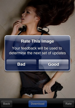 Say Goodbye To the Hottest Girls iPhone App