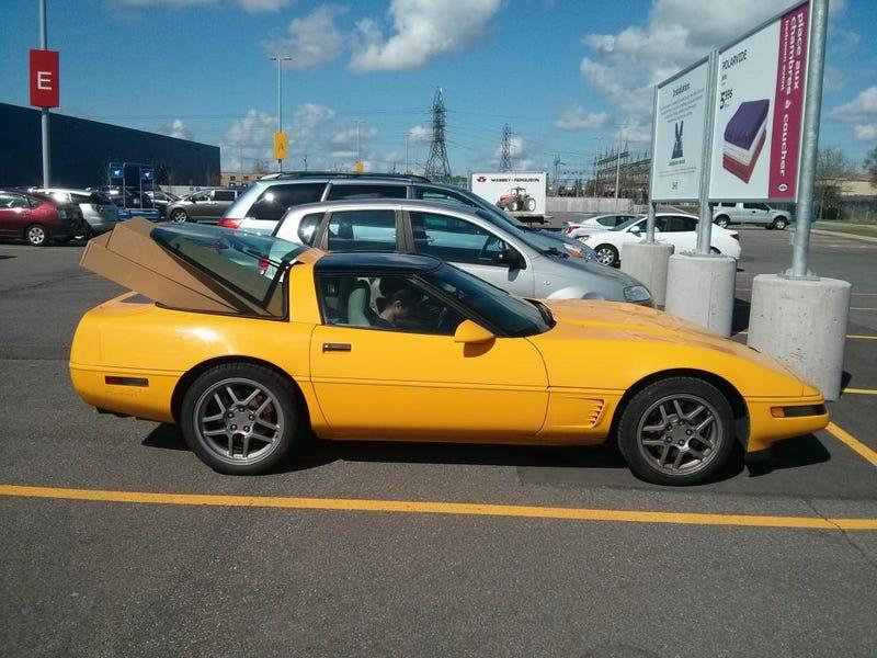 The Corvette is gone :(