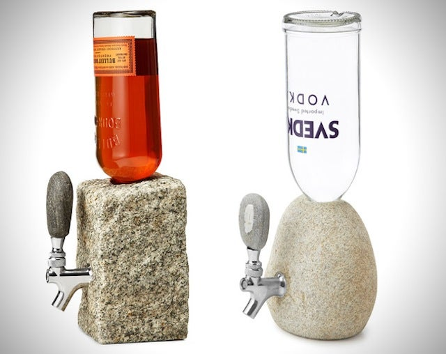 All Booze Tastes Better When It's Squeezed From a Stone