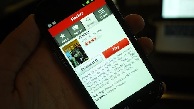 Netflix on Android Gallery