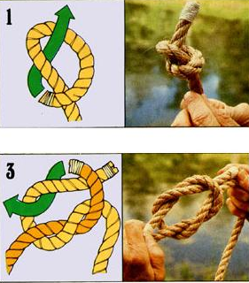 The ten most useful knots and how to tie them