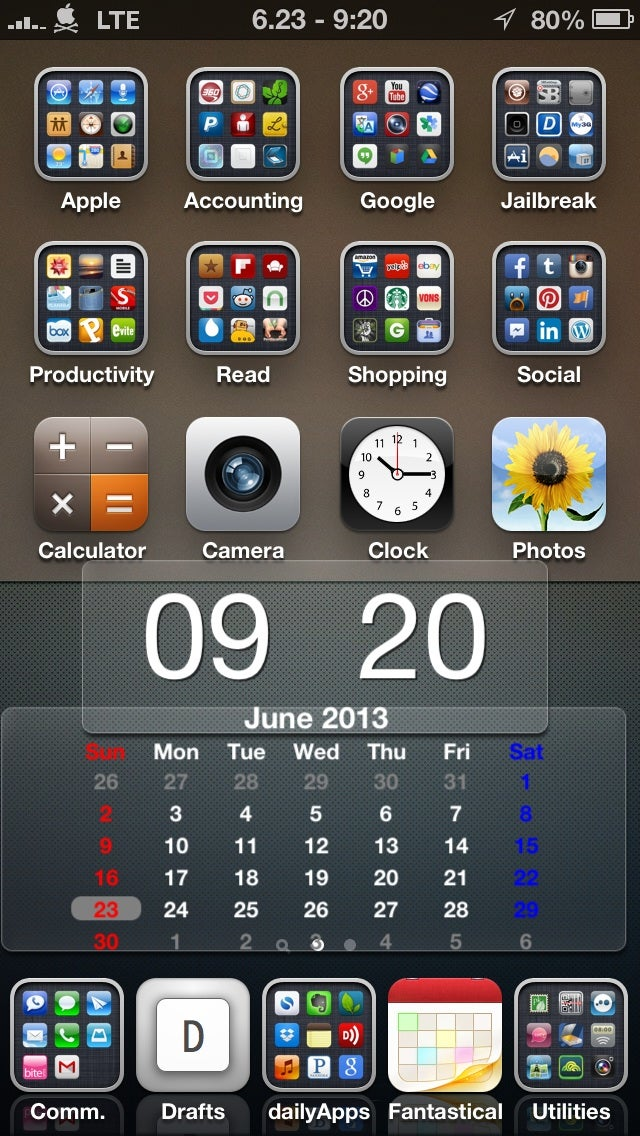 Tip: iPhone Home Screen Organization.
