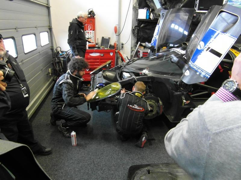 What It's Like To See The Nurburgring 24 With The P4/5 Competizione