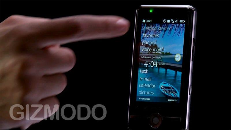 Microsoft Windows Mobile 6.5 Liveblog