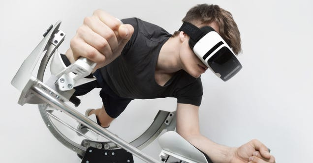 VR Workout Station Lets You Tone Your Abs While Traveling to Jupiter