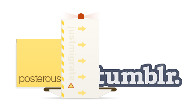 JustMigrate Moves Your Posterous Spaces to Tumblr in a Few Clicks