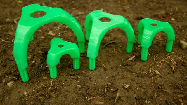 Make a Gardening Seed Spacer on a 3D Printer