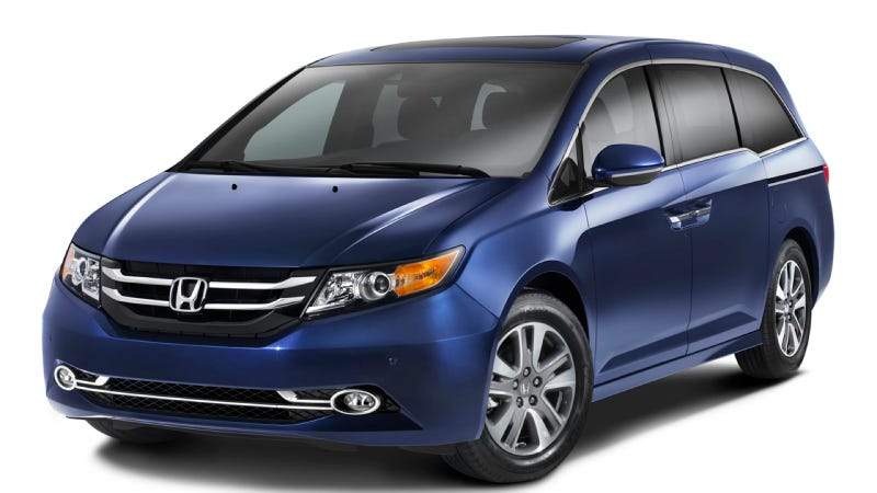 The 2014 Honda Odyssey Is The Exact Same Minivan But With A Vacuum Cleaner