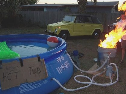 Original McFly Joins John Cusack In Time Traveling Hot Tub