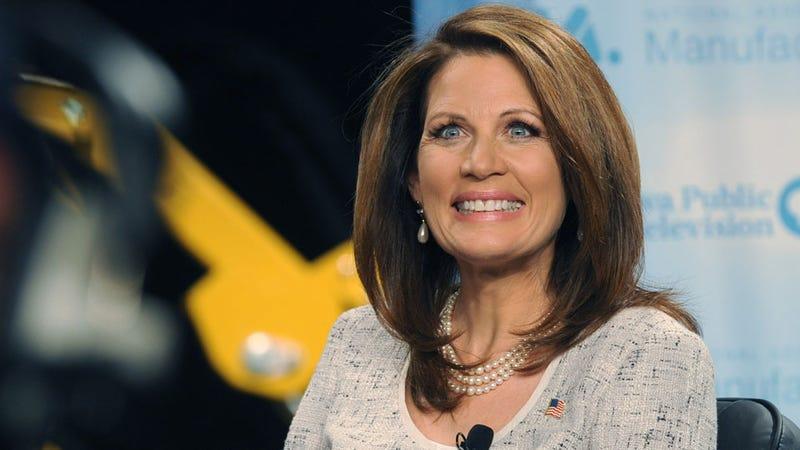 Michele Bachmann Calls Mitt Romney a Cheap Commie