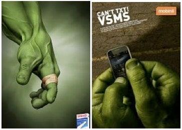 Hulk Smash Copyright Infringement!