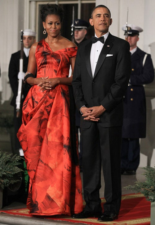 When Going To A White House State Dinner, Show Some Leg