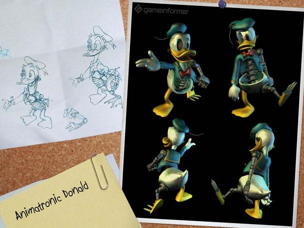 Epic Mickey's Animatronic Donald Gives Me The Creeps