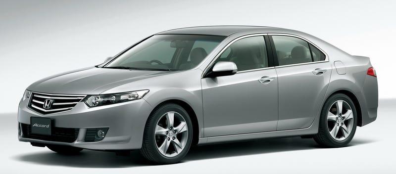 2009 Honda Accord Sedan, Tourer Unveiled For JDM
