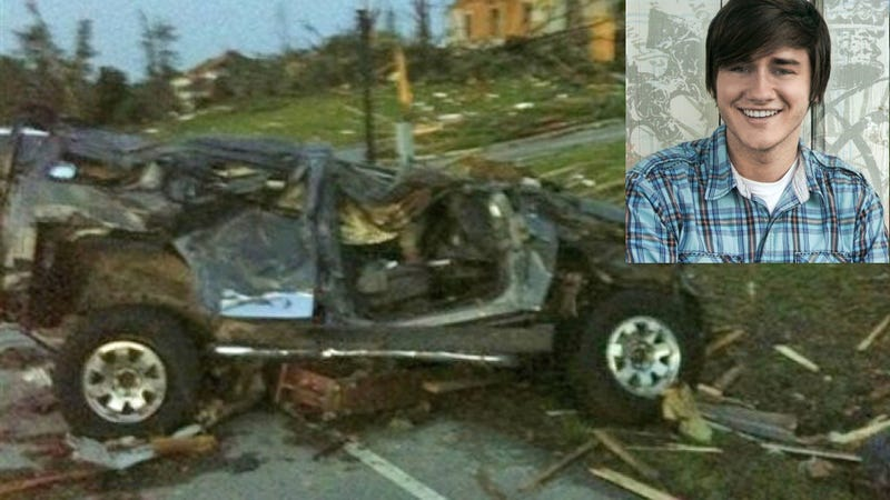 YouTube star missing after being sucked out of sunroof by tornado