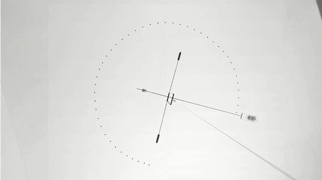 Watch Gravity Control This Hypnotic Drawing Machine