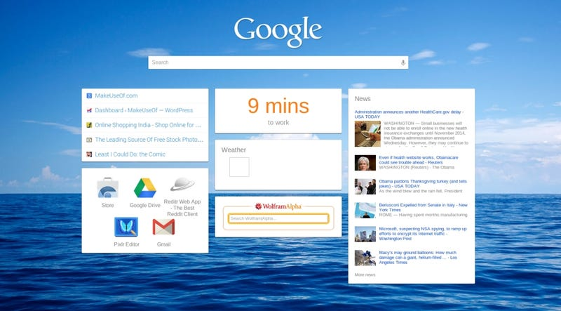 iChrome Turns Your New Tab Page into an iGoogle Lookalike
