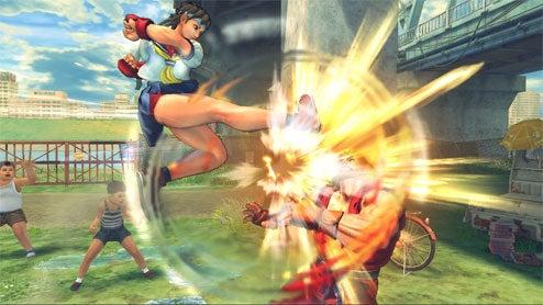 Sakura's Knickers Kick Ken's Face In New SFIV Screens