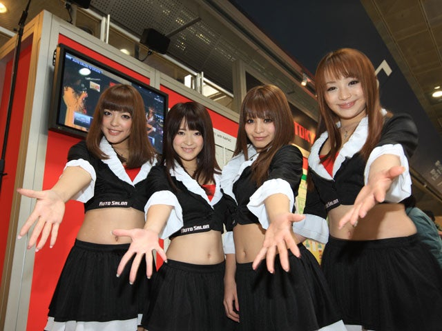 The Booth Professionals Of The 2011 Tokyo Auto Salon