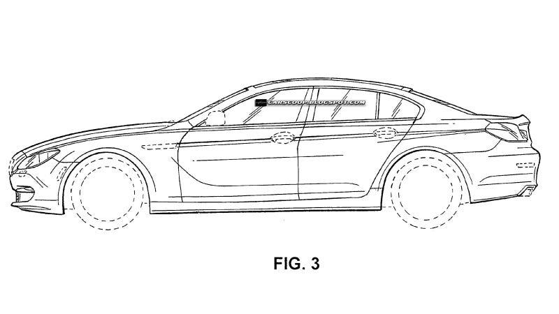 This is BMW's four-door 6 Series