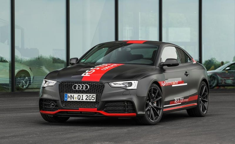2017 Audi RS5 TDI Hybrid