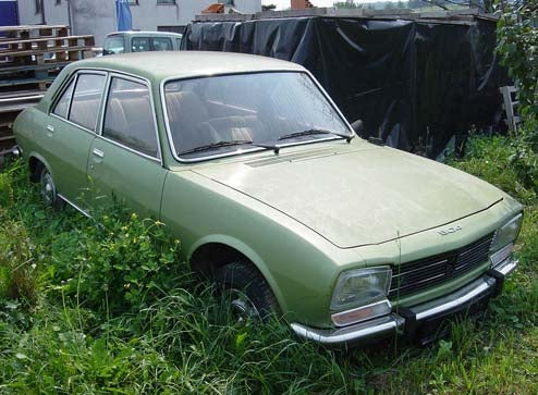 Forgotten Slovenian Peugeot 504 Rescued, Put Back On Road