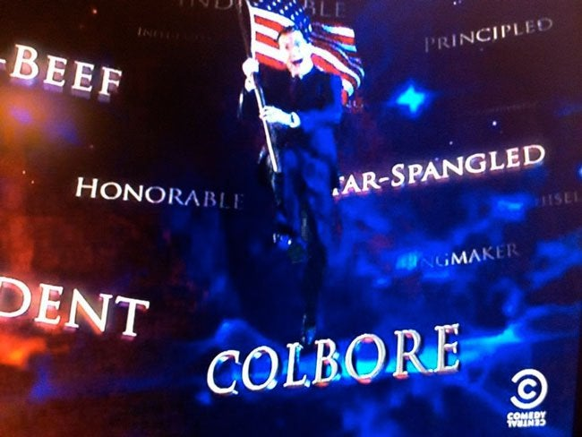 Gwen Stefani's Name Flub Gets Memorialized in Colbert Report Intro