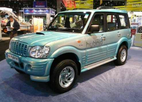 Indian Mahindra Scorpio Diesel-Electric Hybrid SUV: First Pictures Of First Indian Hybrid