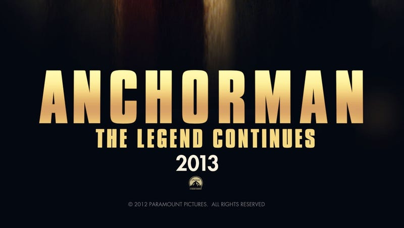 The Anchorman 2 Teaser Trailer will Rock Your World