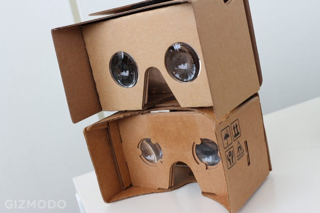 Google's New Cardboard Hands-On: A Little Bigger, A Little Better