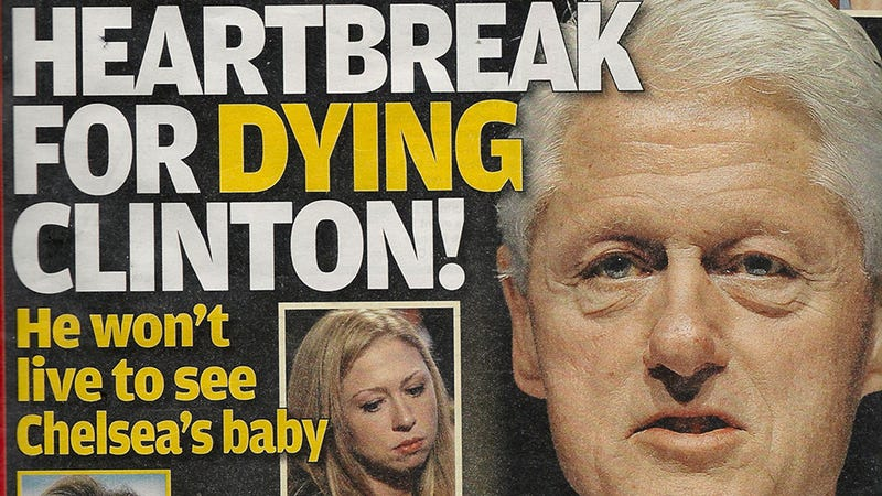Globe Is on a Revolting Bill Clinton Deathwatch