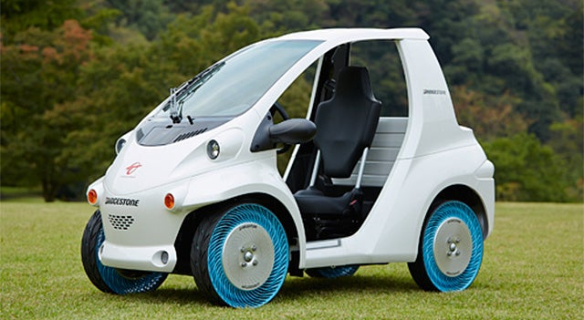 Bridgestone's Futuristic Airless-Tires Are Almost Ready For Your Car