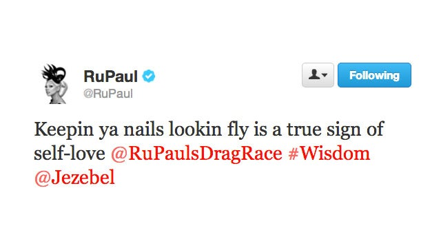 RuPaul Graces Us with Some Twitter Love