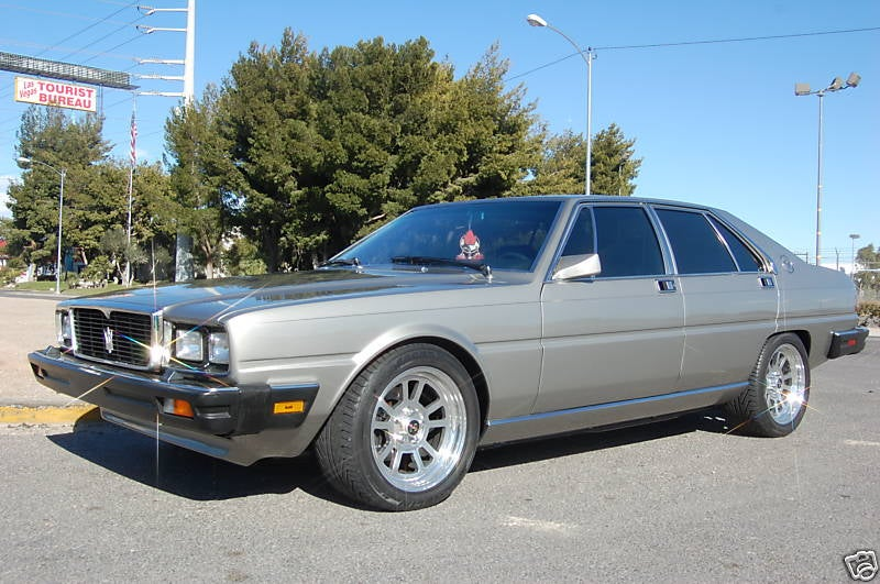 Nice Price Or Crack Pipe: $42,500 For A Supercharged Ford V8-Powered Maserati Quattroporte?