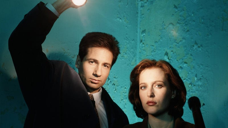 Now that everybody's already copied The X-Files, is Chris Carter creating a copy of a copy?