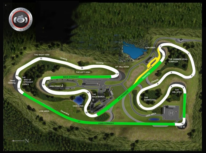 Monticello Motor Club: A Turn-By-Turn Analysis